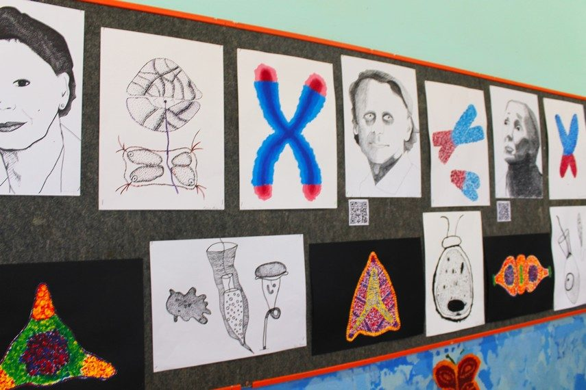 Foto učenici prikazali biologiju kroz likovni mikroskop glas