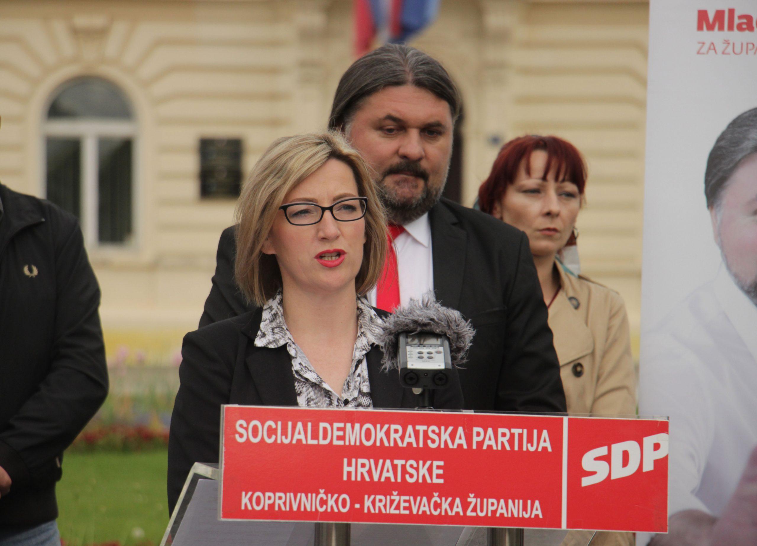 Kandidatkinja za zamjenicu župana Sandra Sinjeri//FOTO: IVAN GROBENSKI